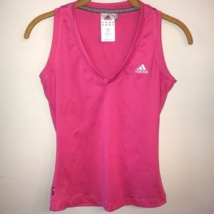 Adidas Clima365 Sleeveless Pink Running Tank Top